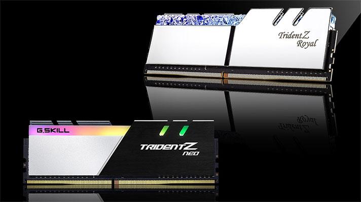 G. Skillek 32 memoria dituen RAM memoria-multzo berriak aurkezten ditu GB