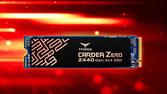Taldearen T-Force Cardea Zero Z440 Taldea - PCD interfazea duten SSD euskarriak 4.0