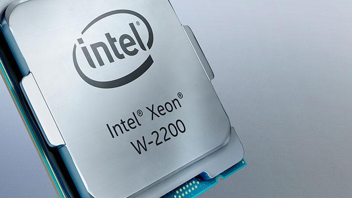 Intel Xeon W-2200: lantokiko prozesadoreen aurkezpen ofiziala