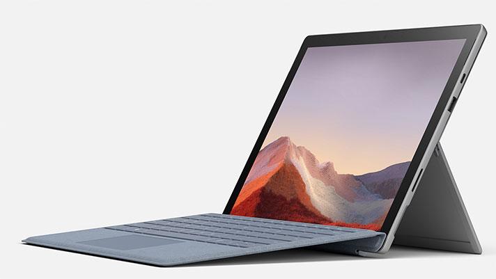 Microsoft Surface Pro 7 - gailuaren aurkezpena 2 in 1 Intel Ice Lake prozesadorearekin
