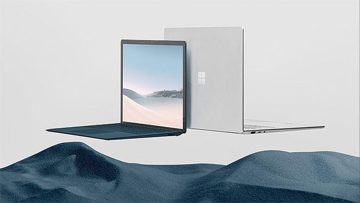 """Microsoft Surface Laptop 3 - ordenagailu eramangarri berrien zehaztapena 13 """"eta 15"""" bertsioetan Intel eta AMD prozesadoreekin"""
