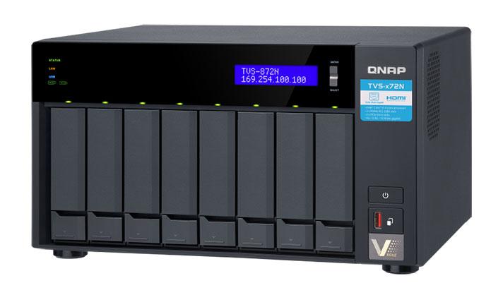 NAS TVS-x72N seriea, QTS sistema 4.4.1 eta iraileko beste albisteak QNAPen