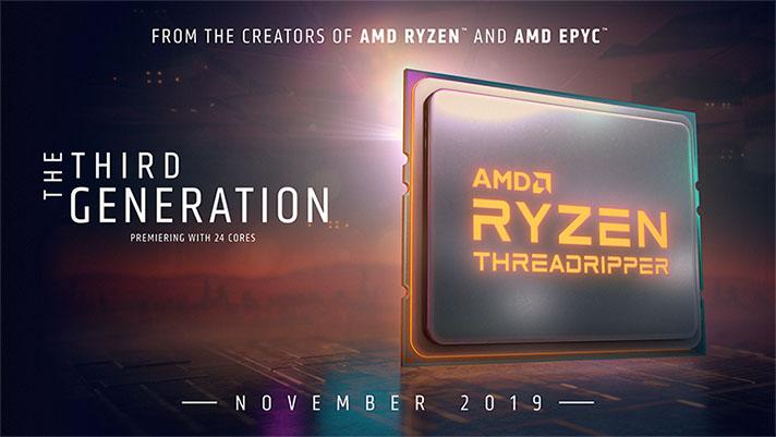 AMD Ryzen Threadripper prozesadoreak 3.  Belaunaldiak agian ez dira bateragarriak X399 taulekin