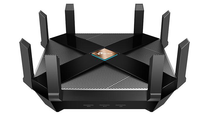 TP-Link Archer AX6000 - router aurkezpena WiFi bidez 6