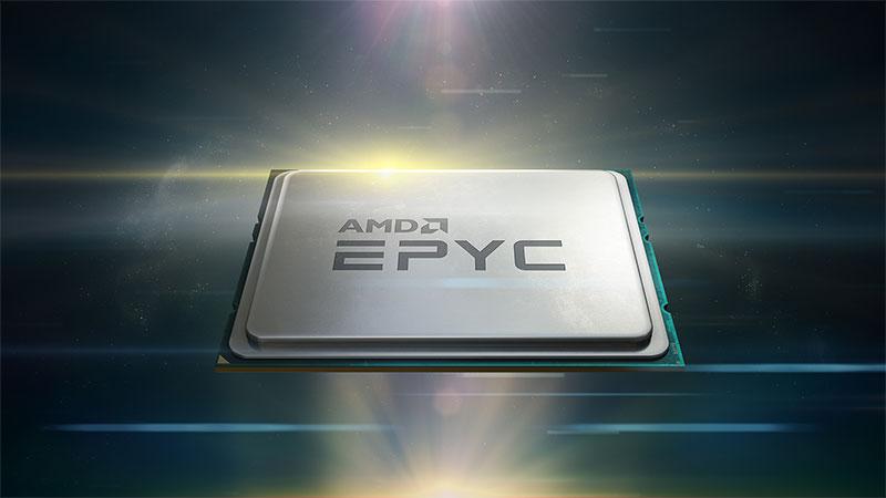 AMDk Epyc 7002 prozesadoreen harrera ona du eta Epyc 7H12 modelo berria aurkezten du
