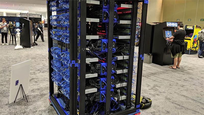 Oracle Raspberry Pi Supercomputer - 1060 Raspberry PI ordenagailu txikietatik eraikitako plataforma