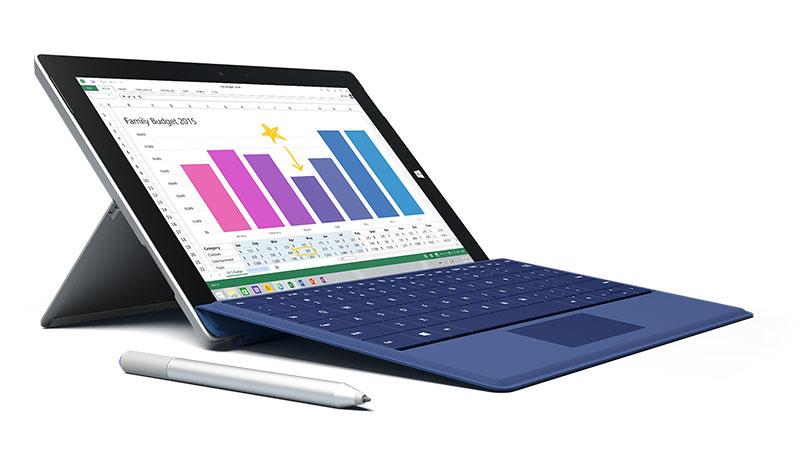 Intel Surface Lake-ekin Microsoft Surface probatu da Geekbench erreferentzian