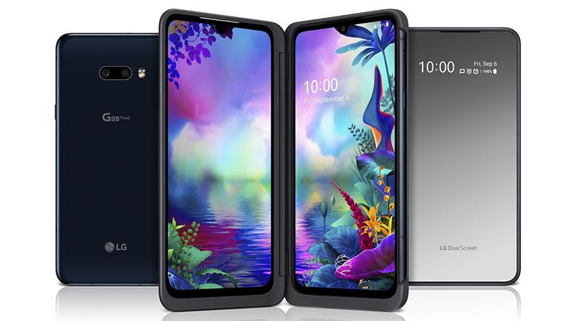 IFA 2019: LG G8X ThinQ ofizialki aurkeztutako Pantaila bikoitzarekin
