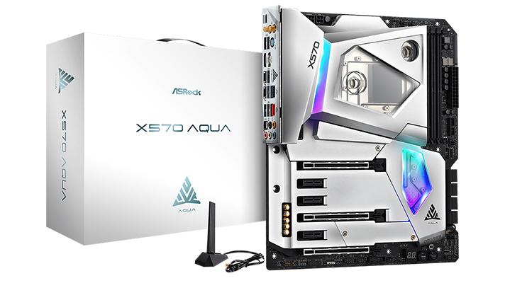 ASRock X570 AQUA - IFA sistema likidoa duen hozteko sistema 2019ko IFA-n estreinatuko da