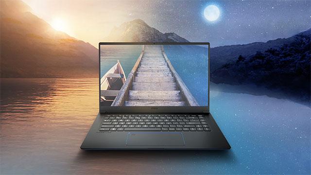 MSI Prestige 15 - Kometa Lake-U prozesadorea eta Nvidia grafiko txipa duen koadernoa