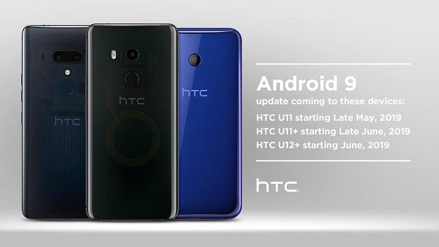 HTC U12 + Europako erabiltzaileek ia urtebete igaro ondoren Android Pie-ra eguneratzea lortzen dute