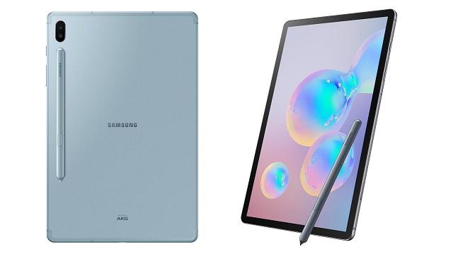 Samsung Galaxy Tab S6 laster iritsiko da Europako dendetan
