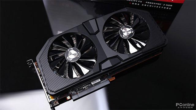 XFX Radeon RX 5700 XT - erreferentziarik gabeko txartel grafikoen eredua lehen irudietan