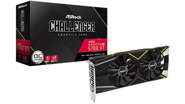 ASRock Radeon RX 5700 XT Challenger-ek abuztuaren lehen erdian estreinatuko du