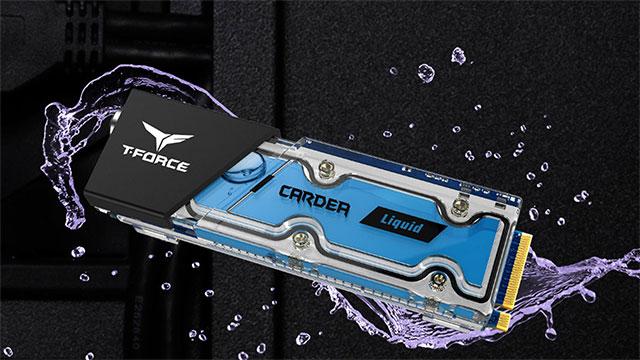 Team Group Cardea Liquid - lehenengo SSD M.2 hozteko sistema likidoarekin