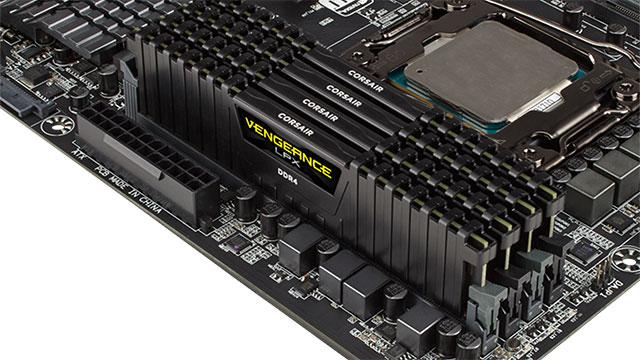 Corsair-k 32GB DDR4 Vengeance LPX memoria moduluak aurkezten ditu