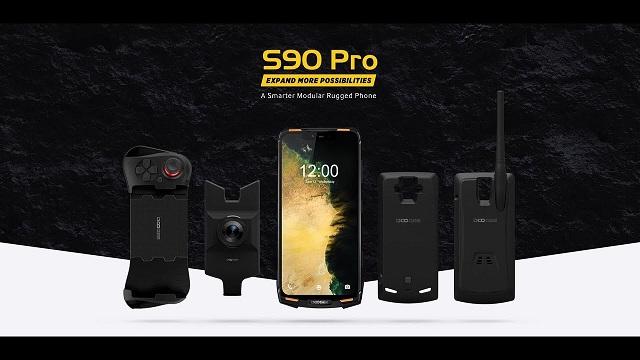 Doogee S90 Pro - egitura indartua duen smartphone indartsua