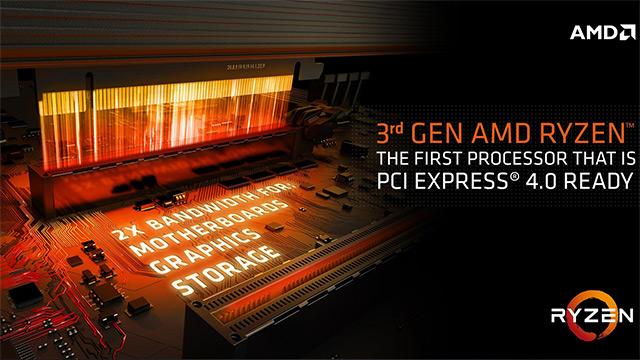 AMD-k PCIe laguntza blokeatuko du 4.0 X470 eta B450 tauletan