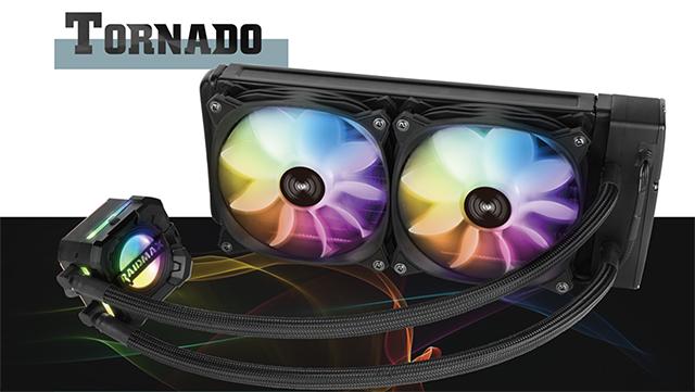 Raidmax Tornado RC240 - likido hozteko sistemaren zehaztapena