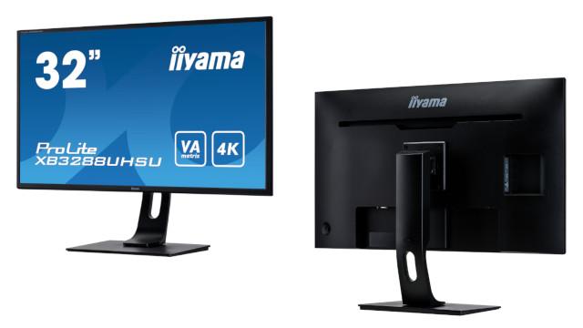 "Profesionalentzako iiyama 32 ""VA 4K monitore berria"