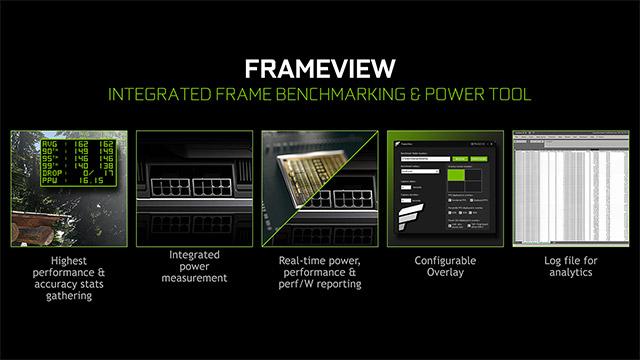 Nvidia FrameView - txartel grafikoaren errendimendua probatzeko aplikazio berria