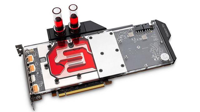 EKWBk hozte likidoko blokeak aurkezten ditu Radeons RX 5700 XT eta RX 5700 enpresentzat