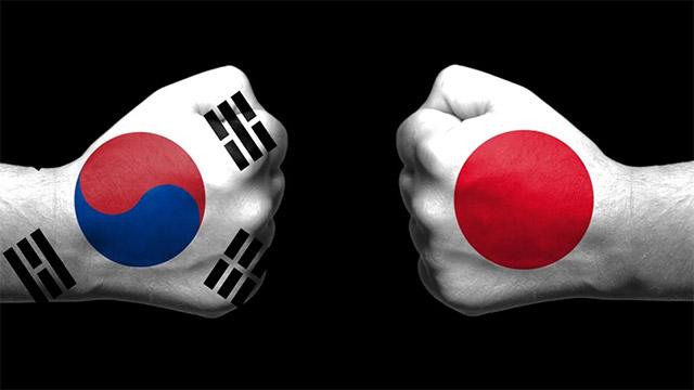 Txip hornidura globala Japoniako Hego Korearekin izandako gatazkaren mehatxupean dago