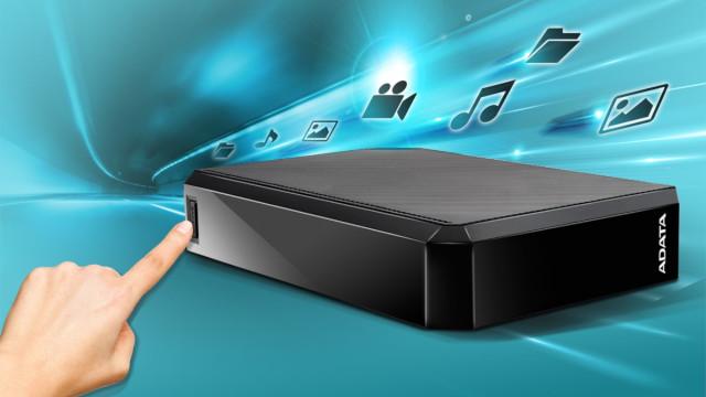 ADATA HM800 - USB HDD berria 3.5 osoa