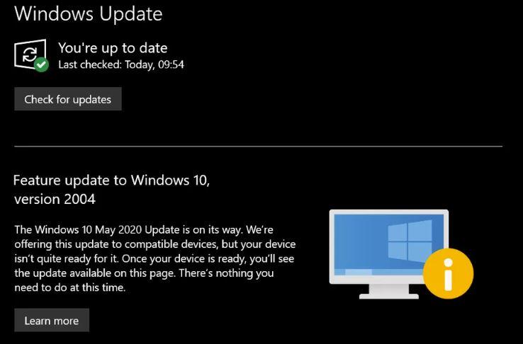 Zergatik Microsoft-ek bere maiatza handia eguneratzen du hainbeste gailutan? 2