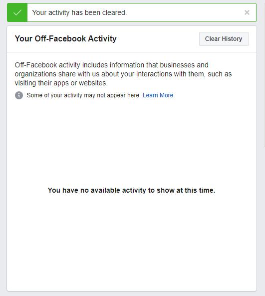 Ikusi zehazki zer Facebook zurekin ezagutzen du - eta ezabatu - tresna honekin 3