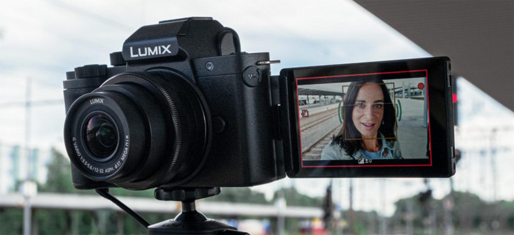 Panasonic Lumix G100 vloggerrentzat sortutako lehen Micro Fours kamera da