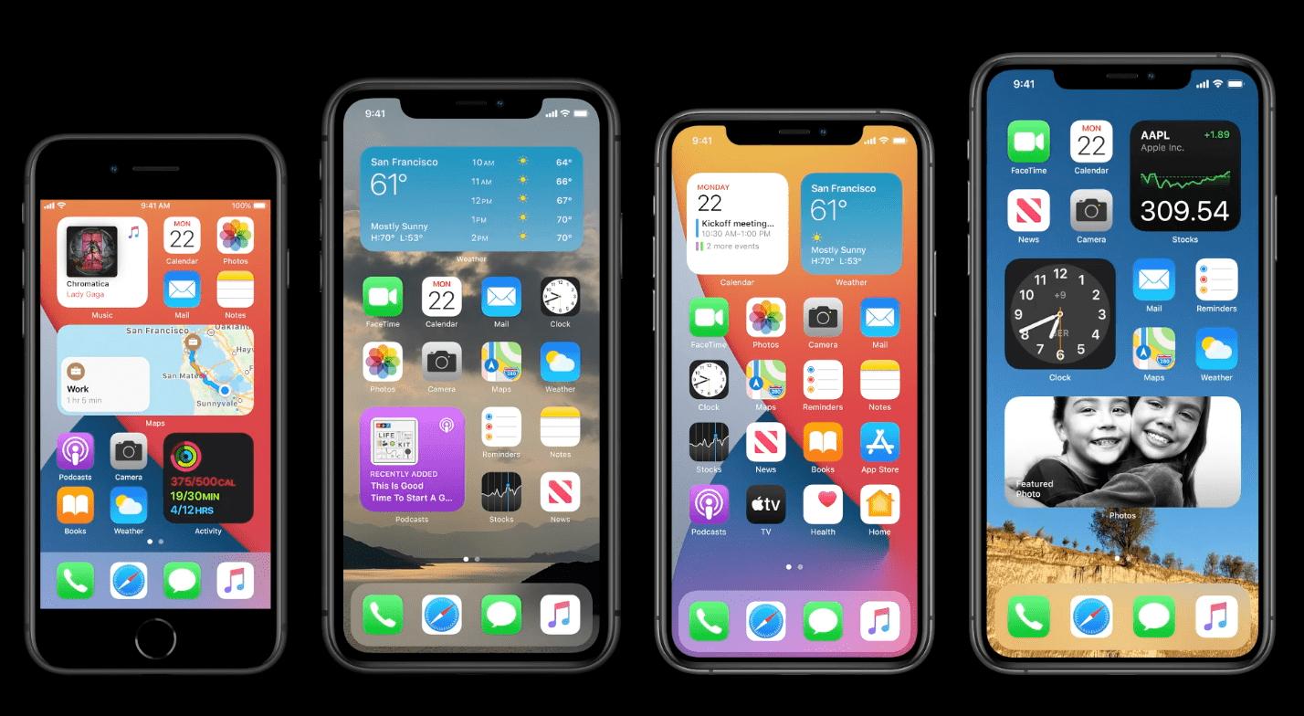 11 berri onak zituen iOS 14an, gainditu zuena Apple