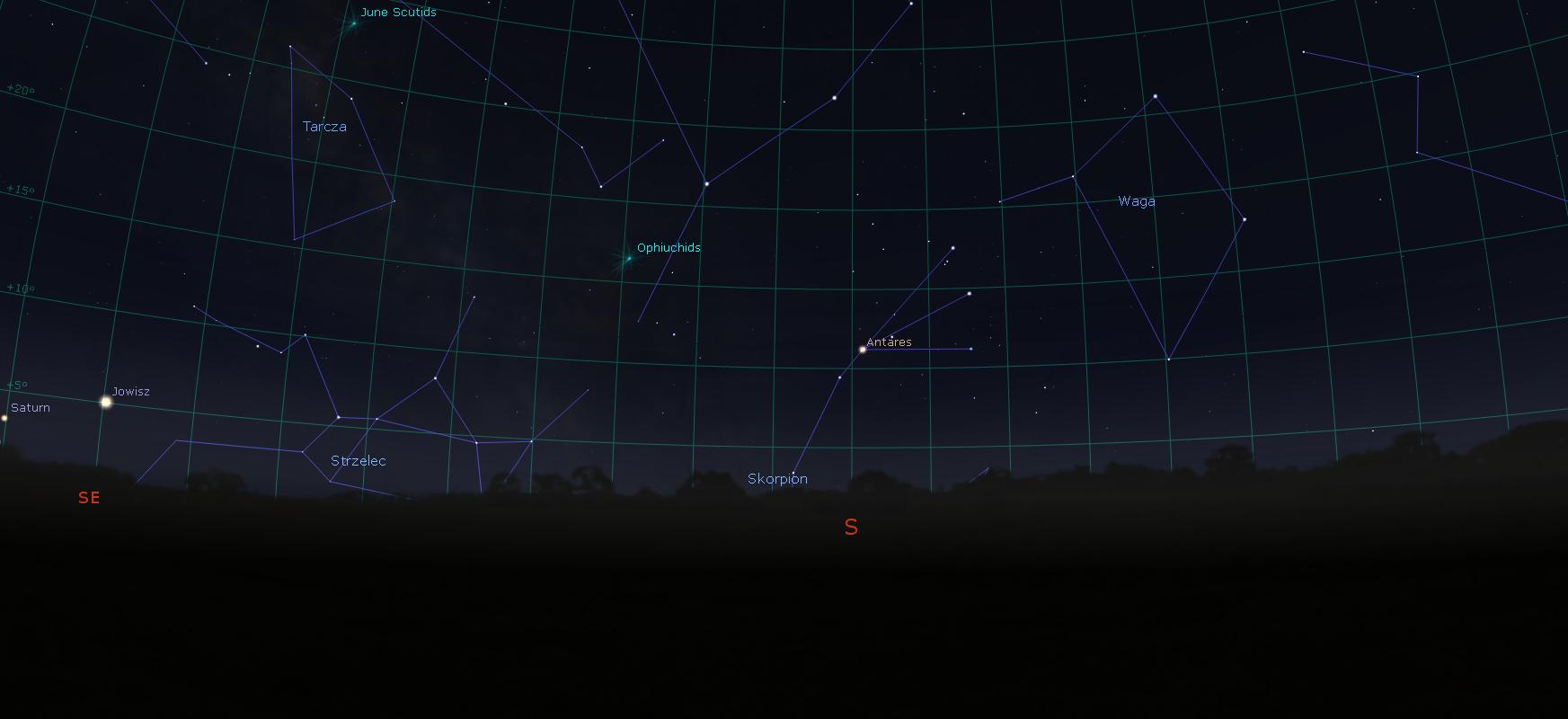 Antares Eguzkia baino 700 aldiz handiagoa da.  Begira zerura eta ikusi supergiant gorria