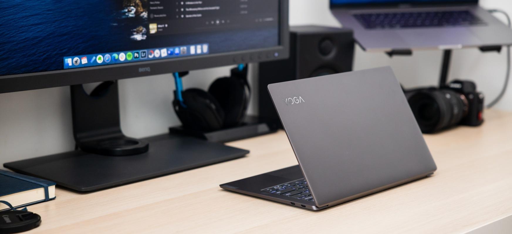 Artelan mugikorra.  Lenovo Yoga S940 - berrikuspena