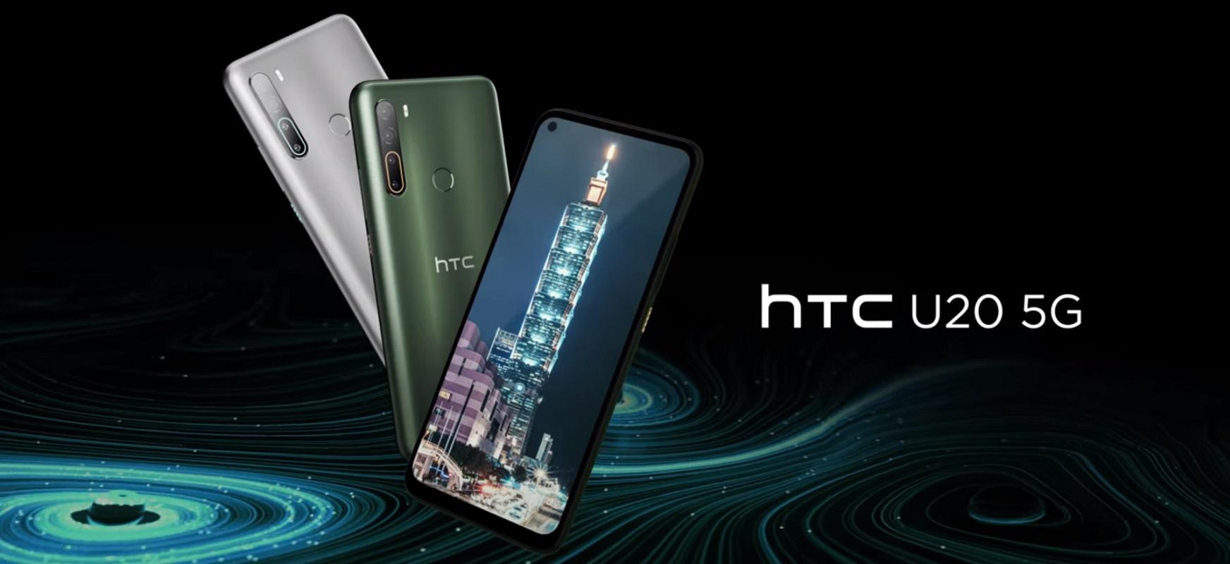 HTCk gogoratu du smartphoneak ekoizten dituela.  Hemen daude HTC U20 5G eta HTC Desire 20 Pro