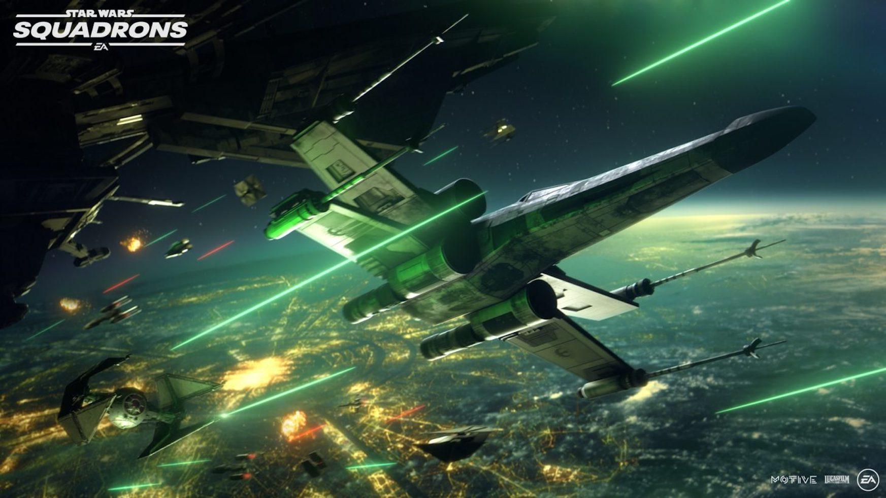 Star Wars: Squadrons ofizialki.  Udazkenean zeruko eta espazioko dueletan parte hartuko dugu