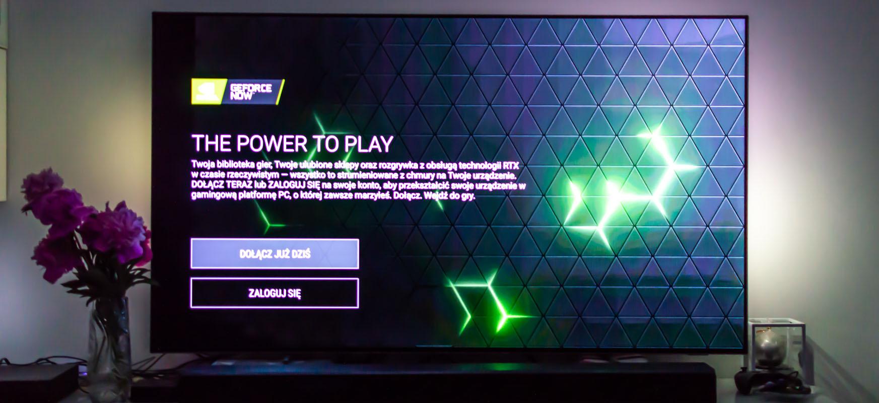 GeForce Now gaurtik aurrera Android TVn.  Azken jokoetarako ez duzu ordenagailu edo kontsolarik behar