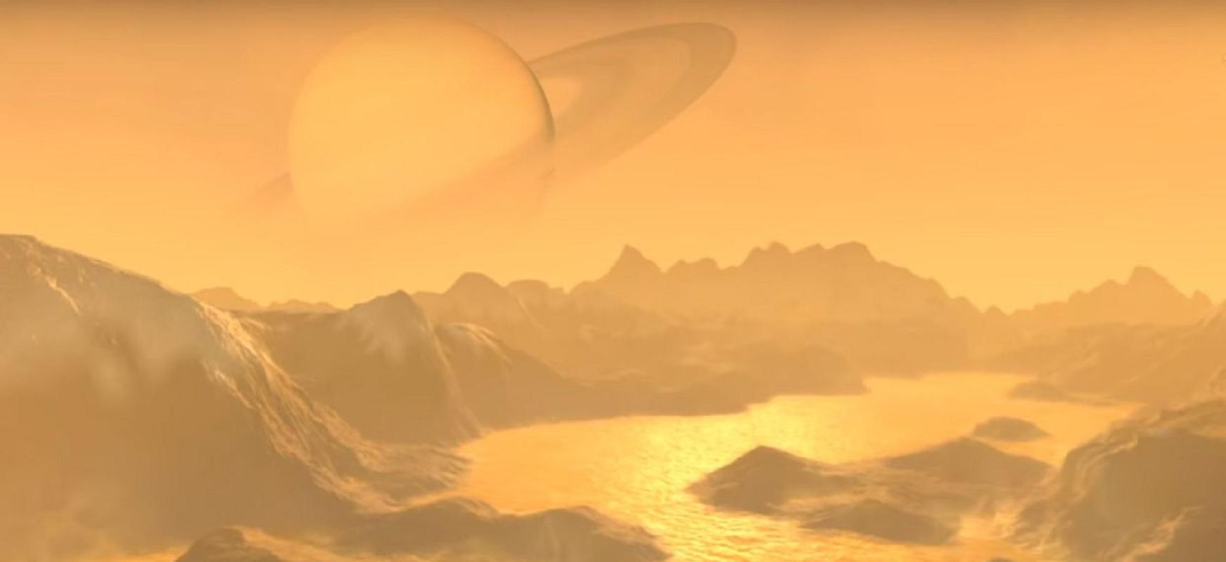 Titan Saturnotik urrundu egiten da.  Espero baino ehun aldiz azkarrago egiten du hori