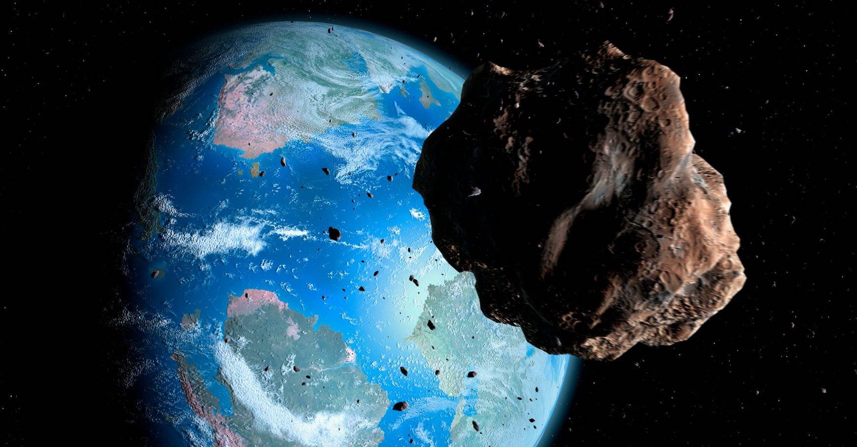 Dinosauroak hil dituen asteroideak ahalik eta angelu okerrenean jo zuen Lurra