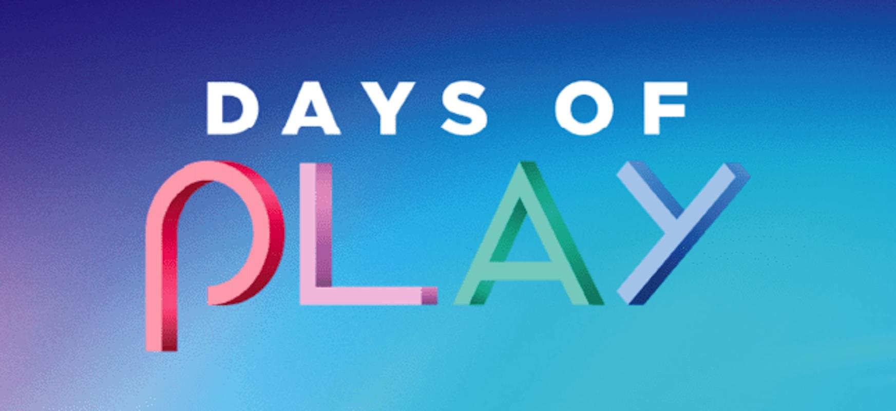 Jokoak PlayStationen 4 eta VR prezio bikainetan.  PlayStation Days of Play promo promozioak hasi dira