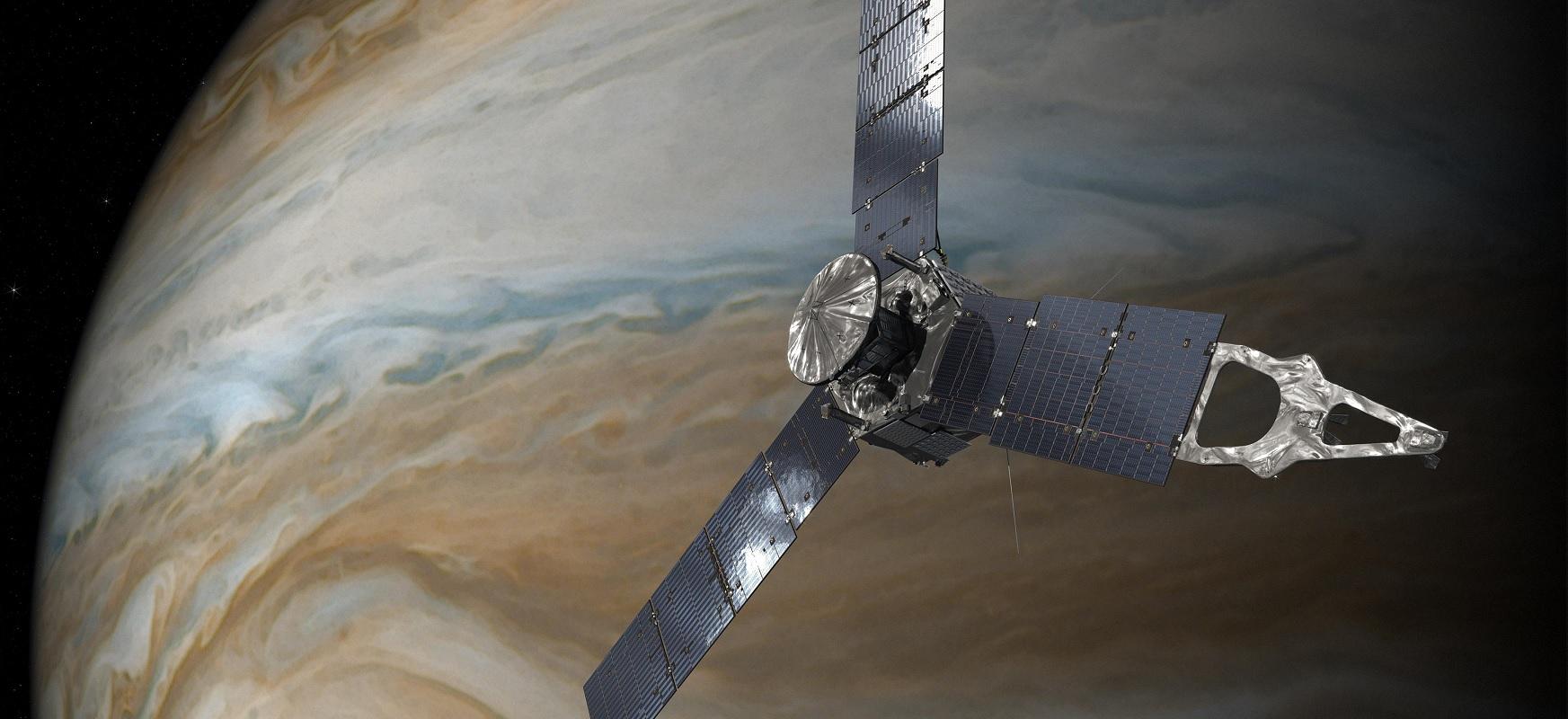 Zientzialariek ezin dute azaldu zer ikusten duten Jupiterren irudi berrian