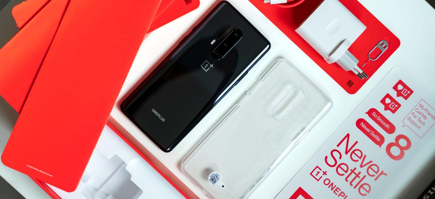 Miraria, eztia eta fruitu lehorrak.  OnePlus 8 Pro - berrikuspena