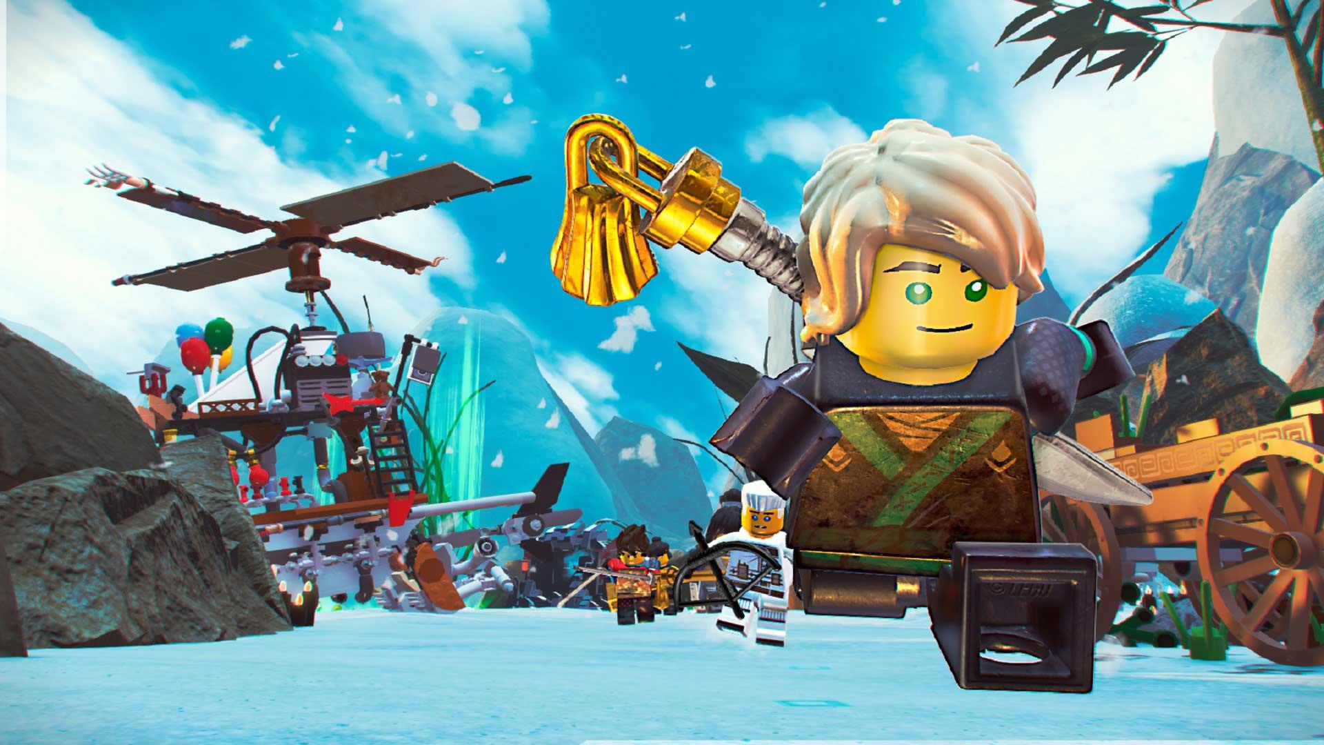 LEGO Ninjago Movie Video Game-a betiko doan PlayStation-entzat 4, Xbox One eta PC