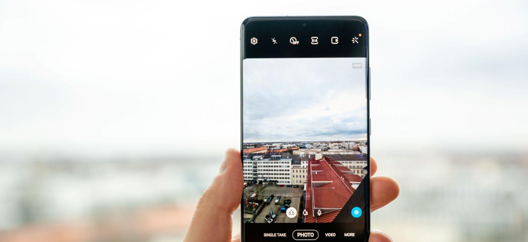 #Ultrawidechallenge - erronka berrian Samsung nola kontrolatuko dugun Galaxy S20 Ultra-k paisaia-argazkiekin kopiatzen du