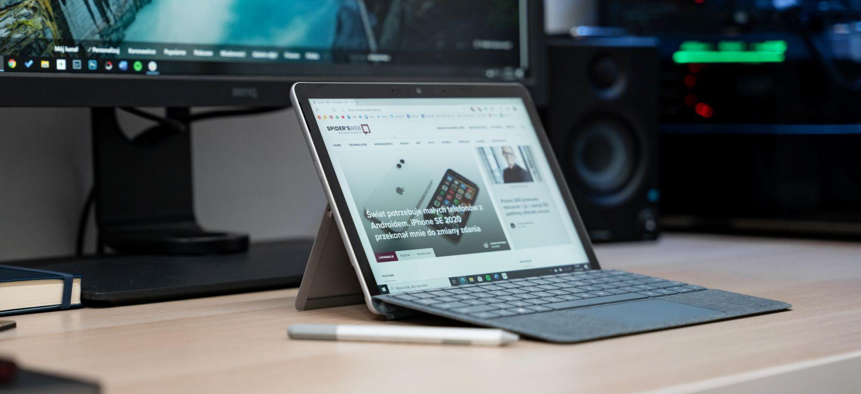 Ez dakit iPad-en aukeratzeko arrazoiren bat dagoen ala ez.  Microsoft Surface Go 2 - lehen inpresioak