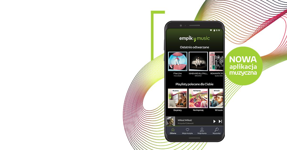Empik-ek Spotify gaileta botatzen du.  Empik Music streaming bidez aurkezten du