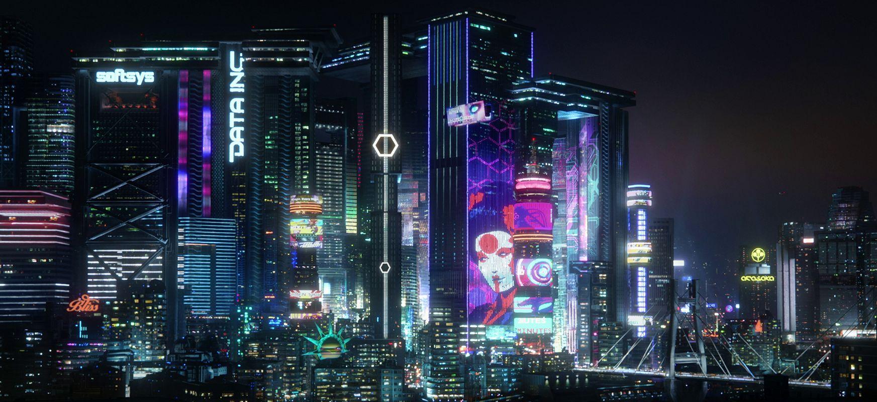 Kaer Morhen etatik Gotham hirira.  CD Project Red-ek ez du Zoom jatorririk eskaintzen