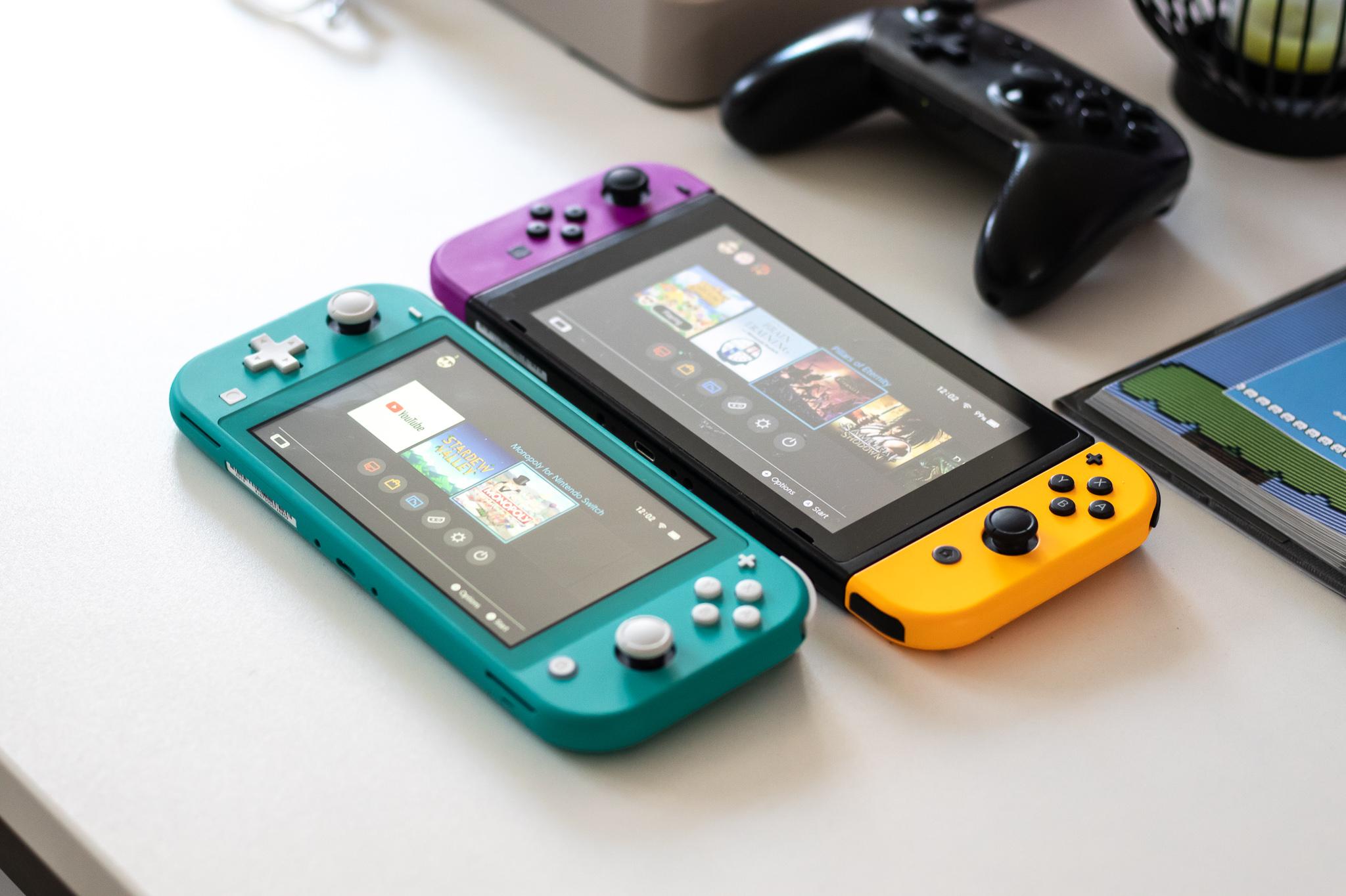 Berritze txikiak eta aldaketa handiak.  Jokoak on Nintendo Switch Pro funtzionatuko da leunki eta moztu gabe