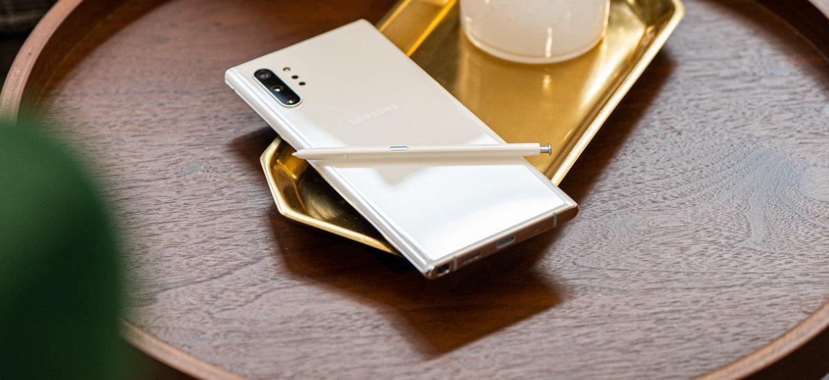 Samsung Galaxy 10 eta 10 oharra praktikan - estreinatu baino lehenago egiaztatu nituen
