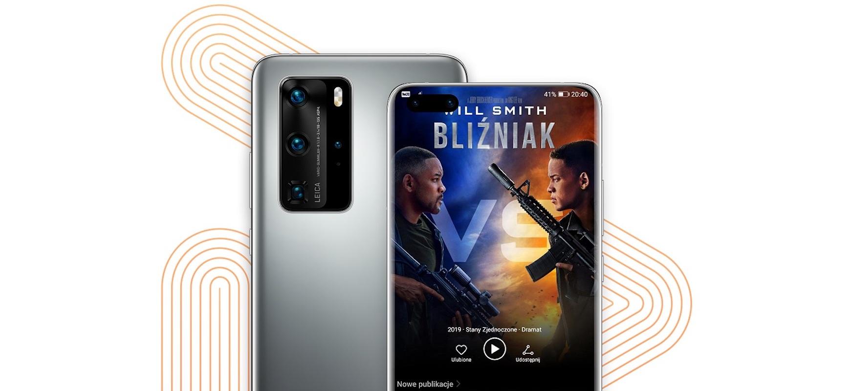 10 bideo dohainik Huawei Video Huawei P40 eta P40 Pro telefonoentzako jabeentzako